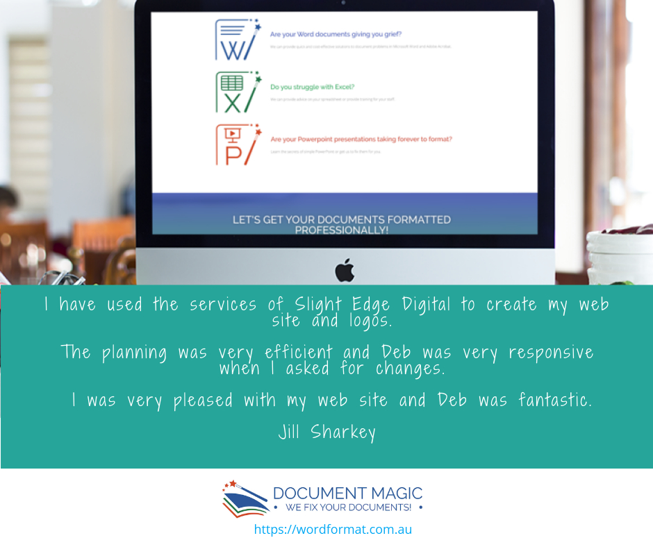 Wordformat.com.au testimonial